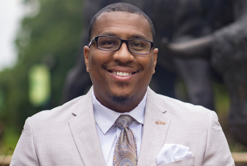 Corey Posey, new Diversity, Equity and Inclusion officer at USFSM
