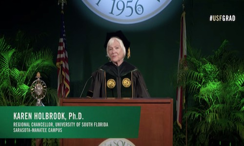 USF Sarasota-Manatee campus holds virtual graduation ceremony, preserves elements of traditional commencement